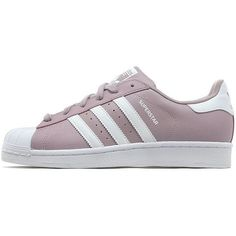 adidas Originals Superstar Women's (€89) ❤ liked on Polyvore featuring shoes, adidas originals, adidas originals shoes, stripe shoes, grip shoes and print shoes