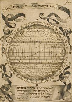 Athanasii Kircheri Magnes siue, De Arte Magnetica Opus Tripartitum, c.1643. Christian Mysticism, Celestial Map, Scientific Notation, Map Globe, Thing 1, Space Exploration, Illustrations, Cartography, Occult