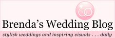 Brenda's Wedding Blog!!!  Check out her Etsy Shop too!