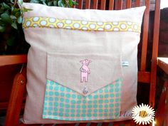 """""""Sick Piggy"""" from the """"Best Friends"""" Collection www.AnjaRiegerDesign here:  http://anjariegerdesign.com/embroidery-designs/friends.html #anja rieger #embroidery #embroidery designs #crafts #DIY"""