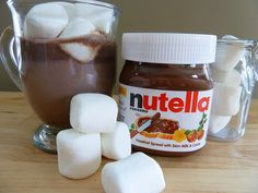 Nutella Hot Cocoa...a must for this Nutella lover!