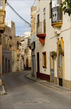 Street in Rabat, Malta.