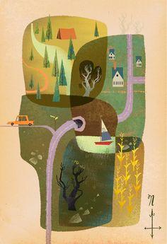 garabating:  Summer-Time by Mike Yamada
