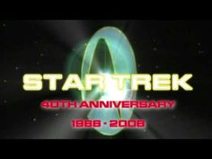 STAR TREK 40th Anniversary Tribute 1966 - 2006 (HQ). It worries me not a little that I'm capable of crying at a Star Trek tribute, but what're ya gonna do