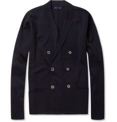 Lanvin Double-Breasted Merino Wool Cardigan | MR PORTER