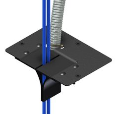 Snake Tray is pleased to announce a new product Snake Air™, an airflow manager for computer access floors designed to allow MC Cable and copper/fiber cables to pass thru the floor without disrupting proper air flow in a datacenter or at workstations.