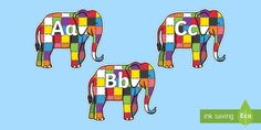 A-Z Alphabet on Elmer to Support Teaching on Elmer