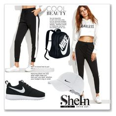 """""""Untitled #3"""" by dzeneta-m ❤ liked on Polyvore featuring NIKE"""
