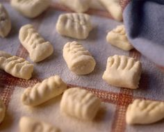 Gnocchi are often made with potato, but David makes his pasta dumplings with creamy ricotta, yielding a light, pillowy result.