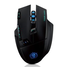 Mpow Dragon Slayer Wireless Optical Gaming Game Mouse Mice Adjustable DPI Function:1000-1600-2400-4000 for PC/Computer/support Surface