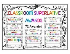 end of year awards 52 editable student certificates for school