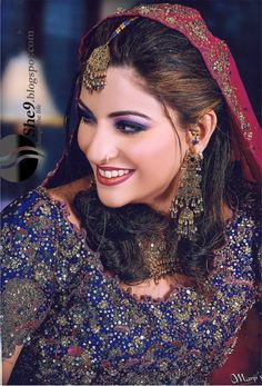 Pakistani and Indian Bridal Makeup All these Bridal makeup, make over are our Traditional makeup mostly use in our wedding ceremony, mehndi functions, bridal parties and walima functions. In these makeup the main focus is on lips color i think in every makeup the main focus is lips color which should be matched to its suit like dupata color,Blouse or kameez color, or lehnga color,