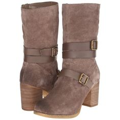 Sbicca Windmill Women's Dress Pull-on Boots, Taupe ($58) ❤ liked on