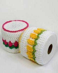 Maggie's Crochet · Rosebud TP Topper Free Pattern