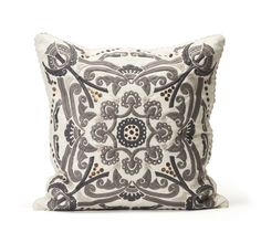 Odd Molly home interior collection FW15   Pillow with embroideries   Design   www.oddmolly.com