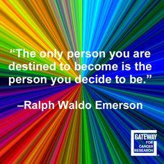 You decide your future!