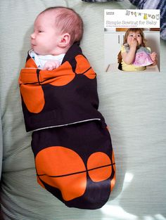 CRAFT Pattern Podcast: Snuggler by Lotta Jansdotter | MAKE: Craft to make for new babies