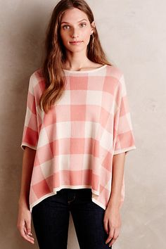 Picnicker Poncho #anthropologie