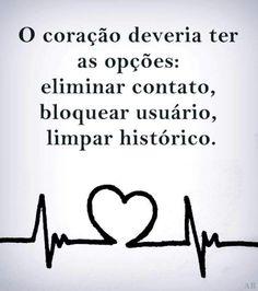 O coração...