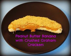 Peanut Butter Banana with Graham Cracker Crust!