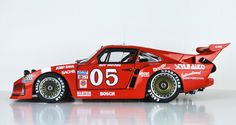 Porsche 935 – As the factory racing version of the Porsche 911 turbo prepared for FIA-Group 5 rules, it was an evolution of the Porsche Carrera RSR turbo prototype, the second place overall finisher in the 1974 24 Hours of Le Mans. Porsche 911 Rsr, Porsche Motorsport, Porsche Cars, Porsche Carrera, Le Mans, Ferrari, Course Automobile, Classic Race Cars, Volkswagen