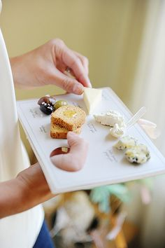 Cheese palate. Cool idea for cheese tasting/identification.