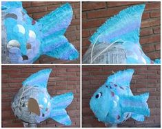 piñata paso a paso Paper Mache Pinata, Paper Mache Crafts, Frozen Birthday Party, Birthday Parties, Birthday Ideas, Pinata Candy, Crafts For Seniors, Mermaid Parties, Under The Sea Party