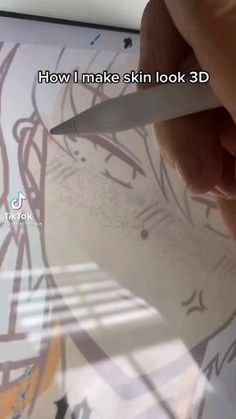 Digital Painting Tutorials, Digital Art Tutorial, Art Tutorials, Cartoon Art Styles, Cartoon Drawings, Drawing Skills, Drawing Tips, Digital Art Beginner, Digital Art Anime