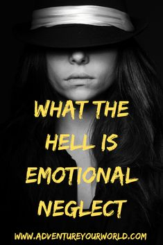 Emotional Neglect - What the hell is that? Improve Self Confidence, Confidence Boosters, Relationship Insecurity, Best Relationship, Negative Thinking, Negative Thoughts, How To Influence People, Successful Relationships, Emotional Connection
