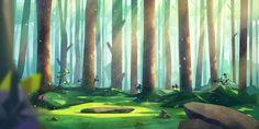 Illustration,Commercial, forest