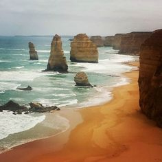 """The """"12"""" Apostles of the Great Ocean road. #12apostles #greatoceanroad #victoria #melbournedaytrip #australia #amazingnature by travel_like_you_mean_it http://ift.tt/1ijk11S"""