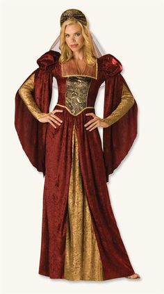 GUINEVERE COSTUME--need to figure out a family set of costumes for King Arthur stories ;)