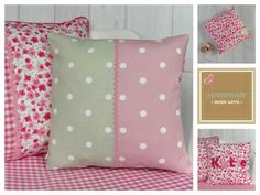 A personal favourite from my Etsy shop https://www.etsy.com/uk/listing/269951755/polka-dot-and-ditsy-floral-cushion