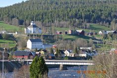 Spring in Tolga, Norway Mountain Village, Norway, Dolores Park, Landscapes, Urban, Spring, Places, Nature, Travel
