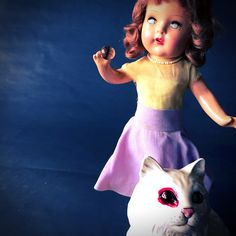 Subject: 1940s Composition Doll steals a cats eye so that she may see again. Short Film: I am Grace