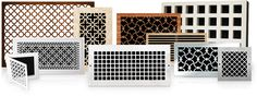 vent covers in pretty patterns | Pacific Register Company |