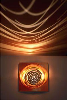 http://www.vv-designer.com/ Siphonophore : applique murale, plafonnier | Vanessa Vaugeois /// Designer / Plasticienne