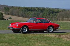 This sporty 1967 Ferrari, which can reach speeds of up to 150mph, is expected to sell for around $300,000
