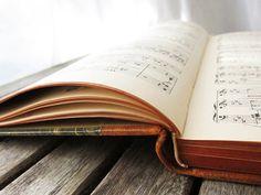 Antique music books