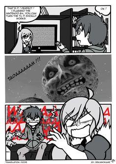 Strip: Majora Mask by Sekainokame