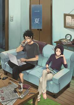 Hisagi & Yumichika