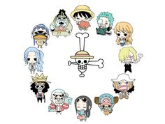 """It's three 'o clock~!"" (""Sanji"" literally means ""three 'o clock"")"