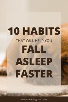 Get better sleep and fall asleep fast with these sleep hacks! #SleepFaster #Insomnia #Sleep #SleepBetter #Health #SLeepHealth How To Fall Asleep