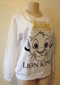 Forever 21 Disney The Lion King Simba Sweatshirt Sweater Jumper Top NWT MEDIUM