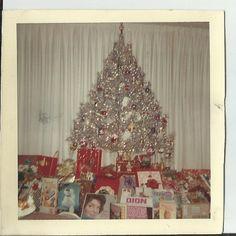 vintage aluminum christmas tree by vintagepostexchange on Etsy, $3.00
