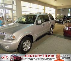 Century 3 Kia would like to say Congratulations to Joseph Roberts on the 2005 Lincoln Aviator
