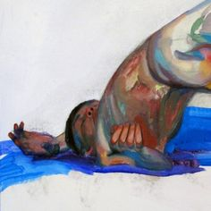 Gustov Klimpt - watch out!  Armory Preview: Winston Chmielinski's Ecstatic Paintings