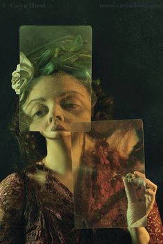 Fragments  FREE SHIPPING  Print. Caryn Drexl Photography. Conceptual, Surreal, Portraits.