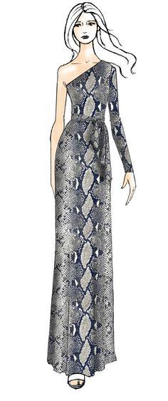 DVF Coco Silk Jersey Wrap Dress