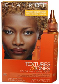 Clairol Textures and Tones Hair Color - -6Bv - Bronze /30W (Pack of 2) >>> Visit the image link more details.